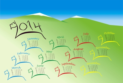 Horse-2014-calendar